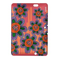 Colorful Floral Dream Kindle Fire Hdx 8 9  Hardshell Case by DanaeStudio