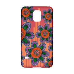 Colorful Floral Dream Samsung Galaxy S5 Hardshell Case  by DanaeStudio