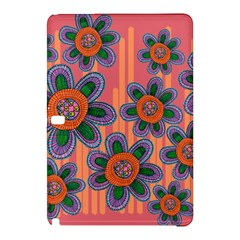 Colorful Floral Dream Samsung Galaxy Tab Pro 12 2 Hardshell Case by DanaeStudio