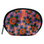 Colorful Floral Dream Accessory Pouches (Medium)