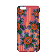 Colorful Floral Dream Apple Iphone 6/6s Hardshell Case by DanaeStudio