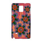 Colorful Floral Dream Samsung Galaxy Note 4 Hardshell Case