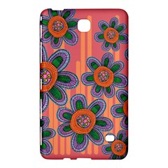 Colorful Floral Dream Samsung Galaxy Tab 4 (8 ) Hardshell Case  by DanaeStudio