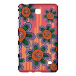 Colorful Floral Dream Samsung Galaxy Tab 4 (8 ) Hardshell Case