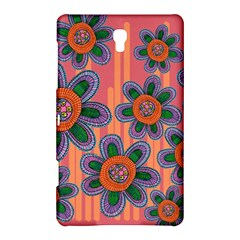 Colorful Floral Dream Samsung Galaxy Tab S (8 4 ) Hardshell Case  by DanaeStudio