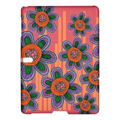Colorful Floral Dream Samsung Galaxy Tab S (10 5 ) Hardshell Case  by DanaeStudio