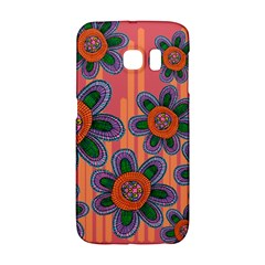 Colorful Floral Dream Galaxy S6 Edge by DanaeStudio