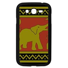 Elephant Pattern Samsung Galaxy Grand DUOS I9082 Case (Black)