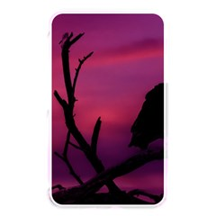 Vultures At Top Of Tree Silhouette Illustration Memory Card Reader by dflcprints