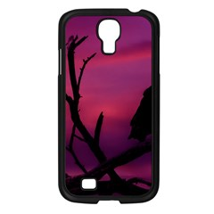 Vultures At Top Of Tree Silhouette Illustration Samsung Galaxy S4 I9500/ I9505 Case (black) by dflcprints