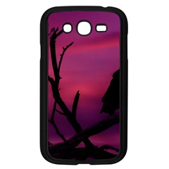 Vultures At Top Of Tree Silhouette Illustration Samsung Galaxy Grand Duos I9082 Case (black) by dflcprints