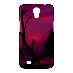 Vultures At Top Of Tree Silhouette Illustration Samsung Galaxy Mega 6 3  I9200 Hardshell Case by dflcprints