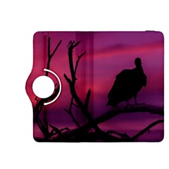 Vultures At Top Of Tree Silhouette Illustration Kindle Fire Hdx 8 9  Flip 360 Case by dflcprints