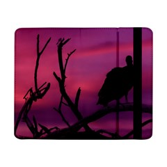 Vultures At Top Of Tree Silhouette Illustration Samsung Galaxy Tab Pro 8 4  Flip Case by dflcprints