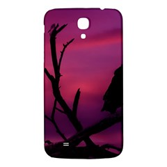 Vultures At Top Of Tree Silhouette Illustration Samsung Galaxy Mega I9200 Hardshell Back Case by dflcprints