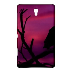 Vultures At Top Of Tree Silhouette Illustration Samsung Galaxy Tab S (8 4 ) Hardshell Case  by dflcprints