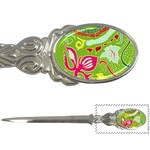 Green Organic Abstract Letter Openers