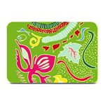 Green Organic Abstract Plate Mats