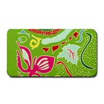 Green Organic Abstract Medium Bar Mats