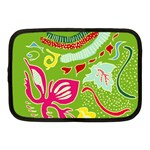 Green Organic Abstract Netbook Case (Medium)