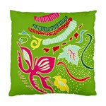 Green Organic Abstract Standard Cushion Case (Two Sides)