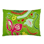 Green Organic Abstract Pillow Case
