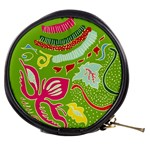Green Organic Abstract Mini Makeup Bags