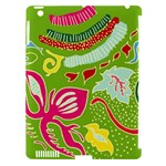 Green Organic Abstract Apple iPad 3/4 Hardshell Case (Compatible with Smart Cover)