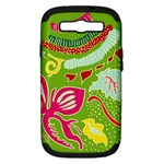 Green Organic Abstract Samsung Galaxy S III Hardshell Case (PC+Silicone)