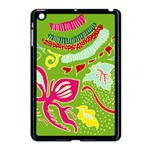 Green Organic Abstract Apple iPad Mini Case (Black)