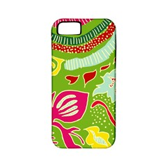 Green Organic Abstract Apple Iphone 5 Classic Hardshell Case (pc+silicone) by DanaeStudio