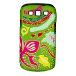 Green Organic Abstract Samsung Galaxy S III Classic Hardshell Case (PC+Silicone)