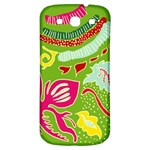 Green Organic Abstract Samsung Galaxy S3 S III Classic Hardshell Back Case