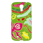 Green Organic Abstract Samsung Galaxy S4 I9500/I9505 Hardshell Case
