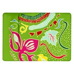 Green Organic Abstract Samsung Galaxy Tab 10.1  P7500 Flip Case