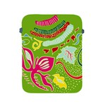 Green Organic Abstract Apple iPad 2/3/4 Protective Soft Cases