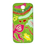 Green Organic Abstract Samsung Galaxy S4 I9500/I9505  Hardshell Back Case