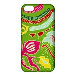 Green Organic Abstract Apple iPhone 5C Hardshell Case