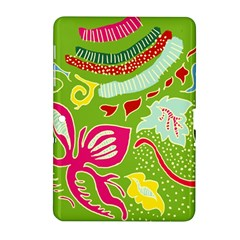 Green Organic Abstract Samsung Galaxy Tab 2 (10 1 ) P5100 Hardshell Case  by DanaeStudio