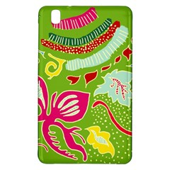 Green Organic Abstract Samsung Galaxy Tab Pro 8 4 Hardshell Case by DanaeStudio
