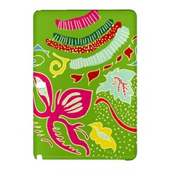 Green Organic Abstract Samsung Galaxy Tab Pro 12 2 Hardshell Case by DanaeStudio