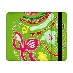 Green Organic Abstract Samsung Galaxy Tab Pro 8 4  Flip Case by DanaeStudio