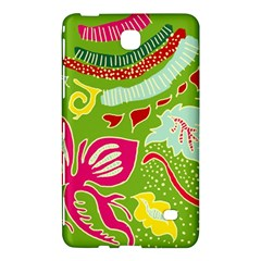 Green Organic Abstract Samsung Galaxy Tab 4 (7 ) Hardshell Case  by DanaeStudio