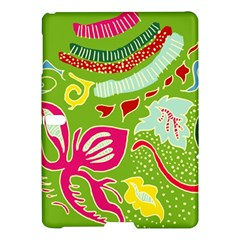 Green Organic Abstract Samsung Galaxy Tab S (10 5 ) Hardshell Case  by DanaeStudio