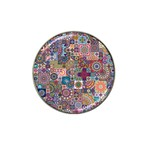 Ornamental Mosaic Background Hat Clip Ball Marker (10 pack)