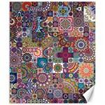 Ornamental Mosaic Background Canvas 8  x 10
