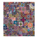 Ornamental Mosaic Background Shower Curtain 66  x 72  (Large)