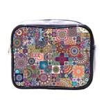 Ornamental Mosaic Background Mini Toiletries Bags
