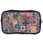 Ornamental Mosaic Background Toiletries Bags
