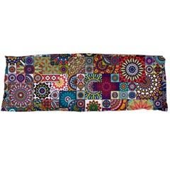 Ornamental Mosaic Background Body Pillow Case Dakimakura (two Sides) by TastefulDesigns